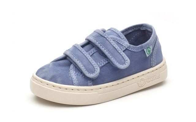 Kinder-Sneaker aus Bio-Baumwolle