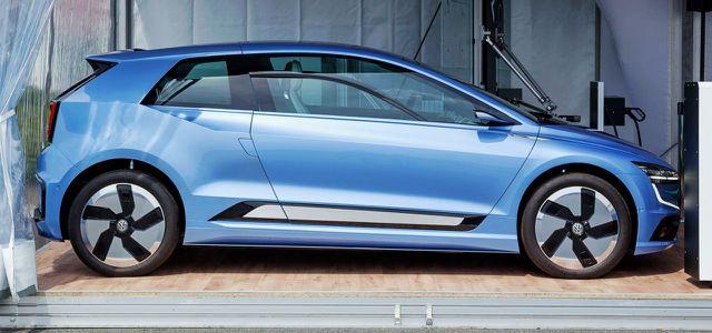 Der Volkswagen I.D. wird wohl zum Golf-Konkurrenten