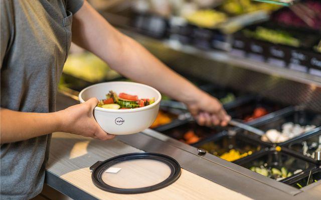 REWE VYTAL Salatbar Schalen