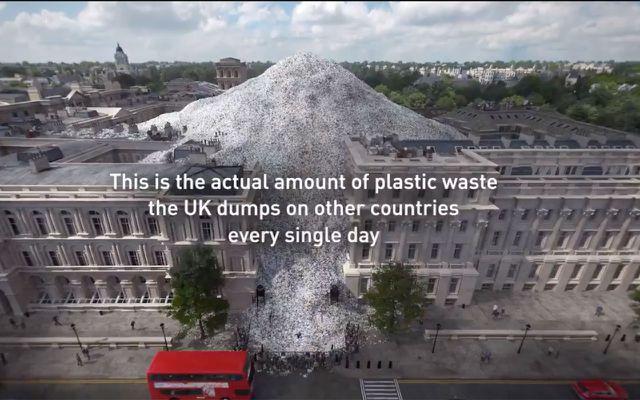 wasteminster video greenpeace