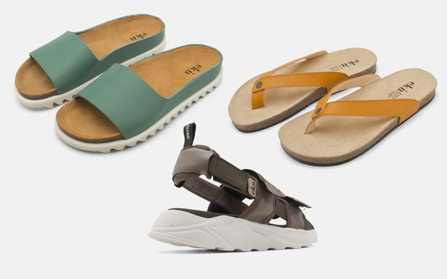 sandalen nachhaltig vegan sommerschuhe eknfootwear