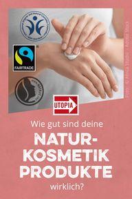 """Öko-Test Naturkosmetik: bei """"fairer Kosmetik"""" genau hinschauen"""