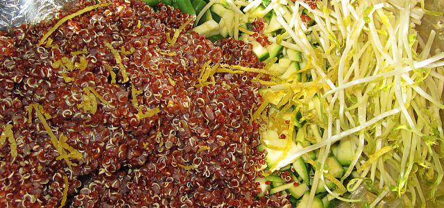 Salate lassen sich einfach improvisieren