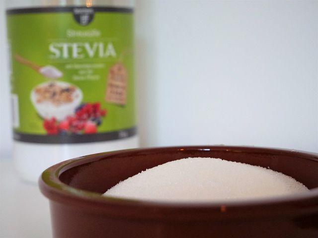 Maltodextrin kommt oft in Stevia-Pulver vor