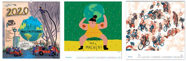 Kalender 2020: Weltretter-Kalender