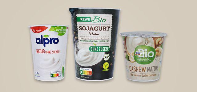 Vegane Joghurt-Alterntiven