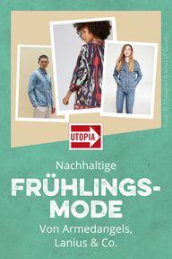 Fair Fashion und nachhaltige Mode für den Frühling 2019! Frühlingsmode von Lanius, Armedangels und von kleineren, weniger bekannten Label stellen wir dir hier vor. #fairfashion #nachhaltigemode #ökofashion