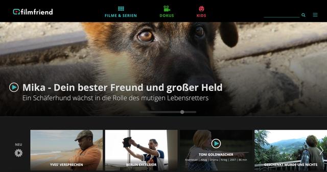 Filmfriend.de arbeitet mit einigen Stadtbibliotheken zusammen.