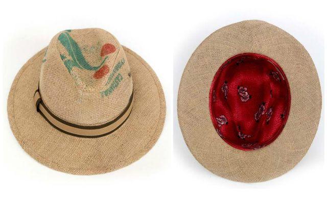 Upcycling Produkte aus Müll: Hüte aus Kaffeesäcken von Feine Hüte