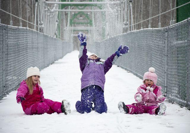 Wenn Kinder an der frischen Luft sind, stärken sie ihre Abwehrkräfte.