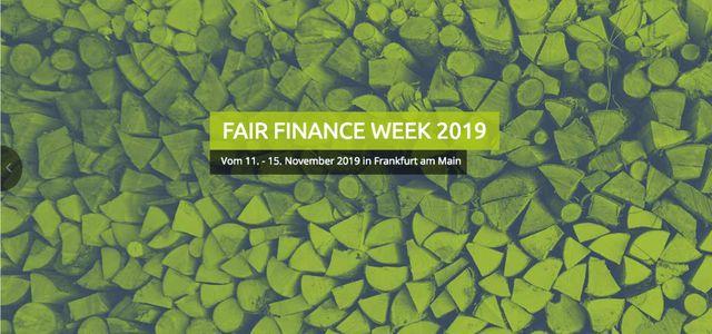 Fair Finance Week 2019