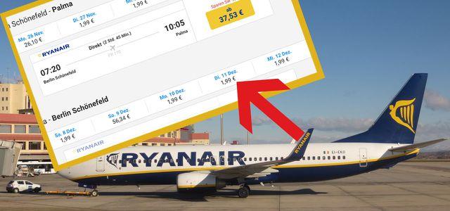 Unfassbar Bei Ryanair Gibt Es Gerade Flüge Für 199 Euro Nach