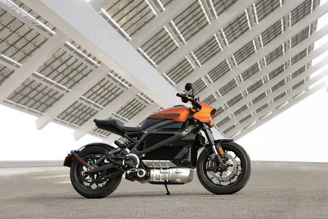 Das E-Motorrad Harley Davidson LiveWire