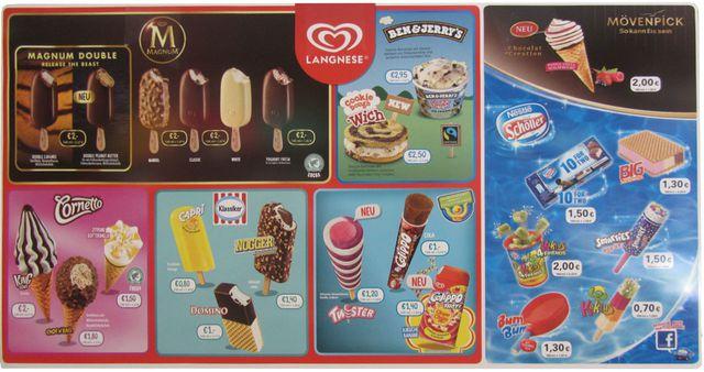 Unilever vs. Nestlé - gutes Eis für Kinder?