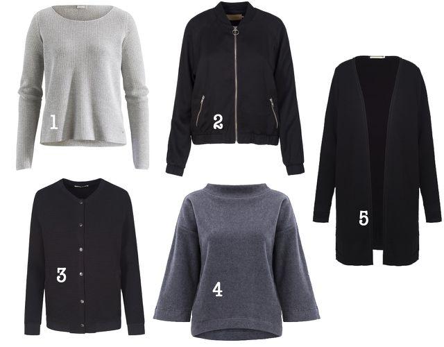 Minimalistischer Kleiderschrank: Pullover und Cardigans