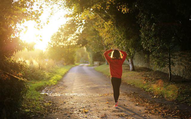 Vitamin D tanken an der Sonne beim Sport