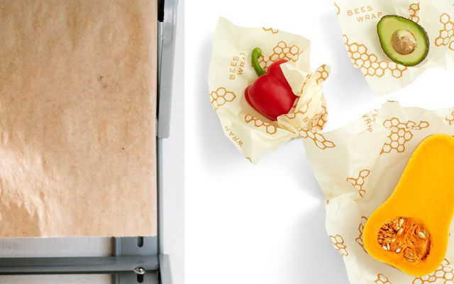 How to freeze food without plastic waxed paper wraps