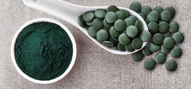 Spirulina-Algen zum Abnehmen Parfümdosis