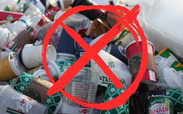Zero waste lifestyle tips produce less waste trash garbage