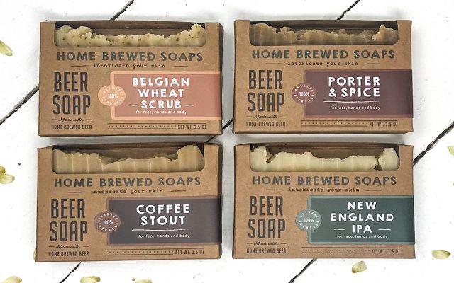 beer soap natural bar