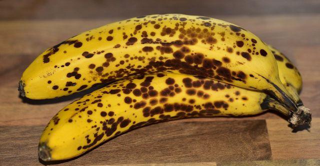 Je reifer die Bananen, desto mehr Süße verleihen sie dem Kuchen.