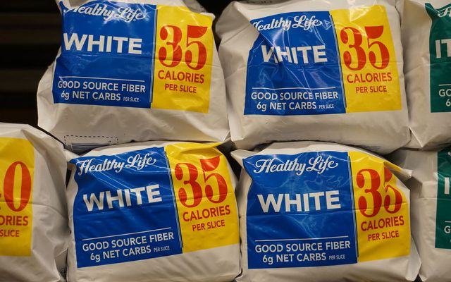 Unhealthy foods white flour breads