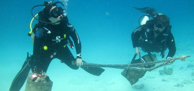 Projekte gegen Plastikmüll im Meer: Dive against Debris