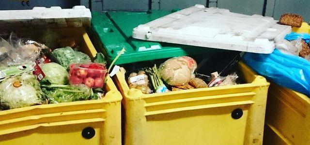 Containern Lebensmittelverschwendung Petition