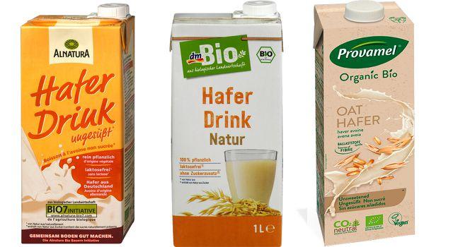 Hafermilch Gesunder Milchersatz Laktosefrei Vegan Haferdrink