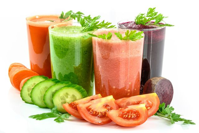 Grüne Gemüse-Smoothies enthalten weniger Fruchtzucker