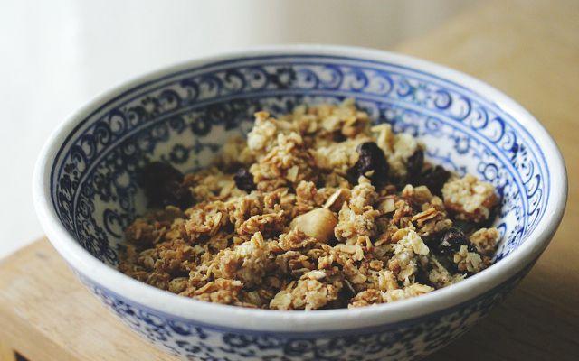 Fodmap-Rezepte – gut zum Beispiel mit Granola