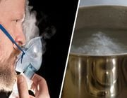 steam inhalation for colds and coughs