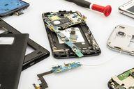 Ein Smartphone enthält viel wertvolles Material