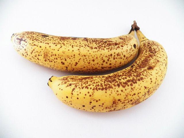 Reife Bananen eignen sich besonders gut für dieses Rezept.