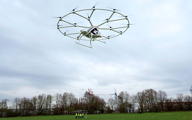 Volocopter: kommt das fliegende Elektroauto?