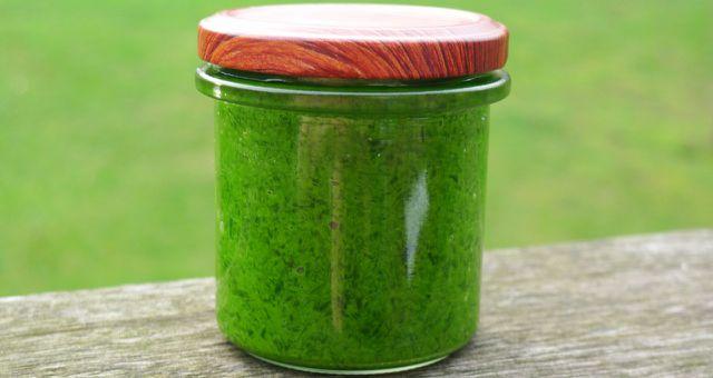 Bärlauchpesto selber machen – mit diesem Rezept auch vegan