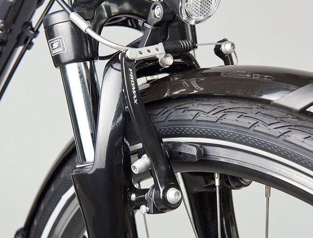 Stiftung Warentest (7/2016) fand oft zu schwache Bremsen im Test E-Bike