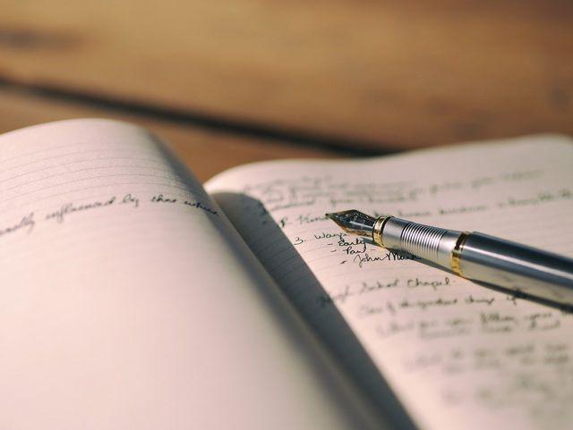 Schreibe auf, wofür du dankbar bist.