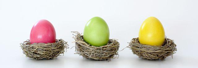 Kreatives Osterprojekt: Ein Osternest selbst flechten