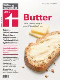 Stiftung Warentest April 2018 Butter im Test