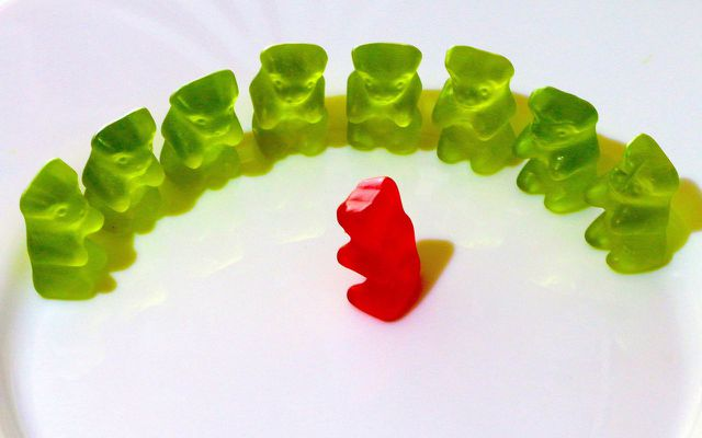 Gummy bears circle