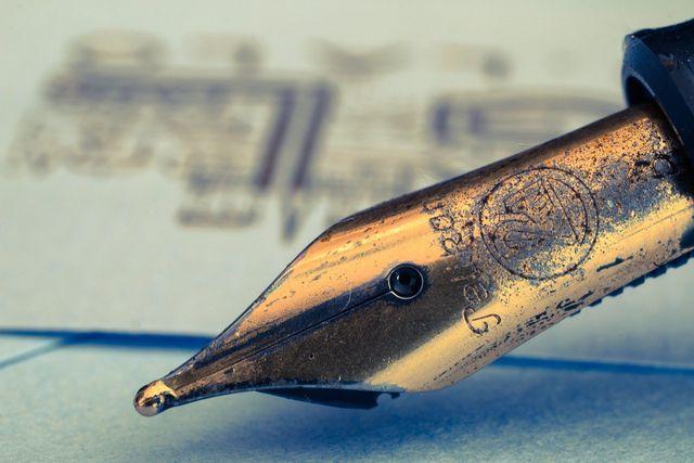 Handschriftlich einen persönlichen Brief zu verfassen, kostet viel Zeit.