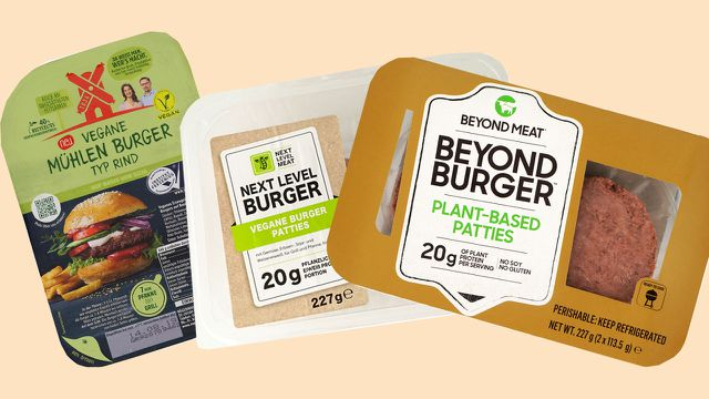 Vegane Burger, Beyond Meat bei Öko-Test