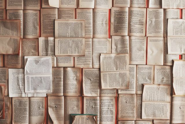 There are lots of ways to get creative with old books.