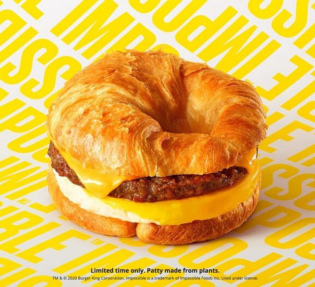 Impossible Foods Sausage Croissant