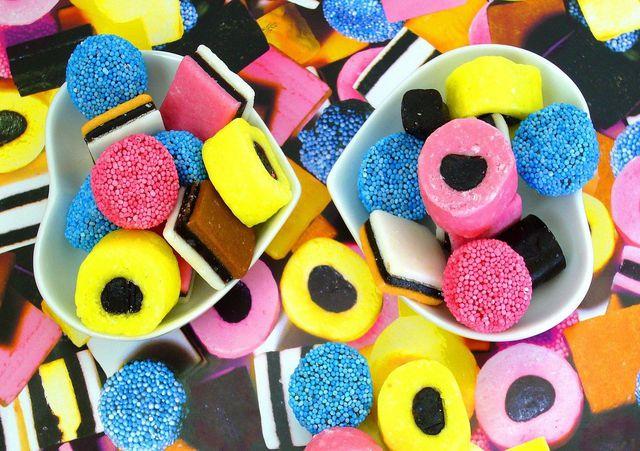 Süß und Bund: Kinderlakritz ist eine beliebte Süßigkeit
