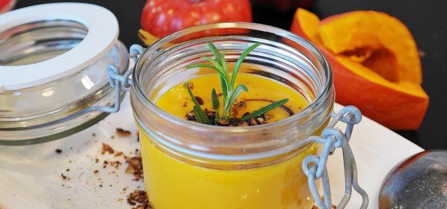 Kürbissuppe Rezept vegan und einfach, Fertig-Suppen