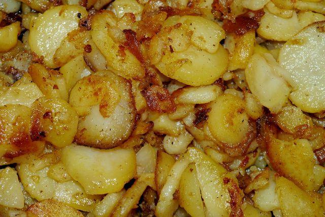 Bratkartoffeln: Schnell zubereitet, variabel und lecker.