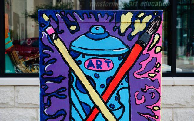 Be creative create art paintbrushes