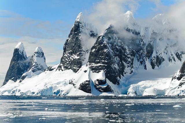 Unter den Ozeanen gibt es ebenfalls Permafrost.